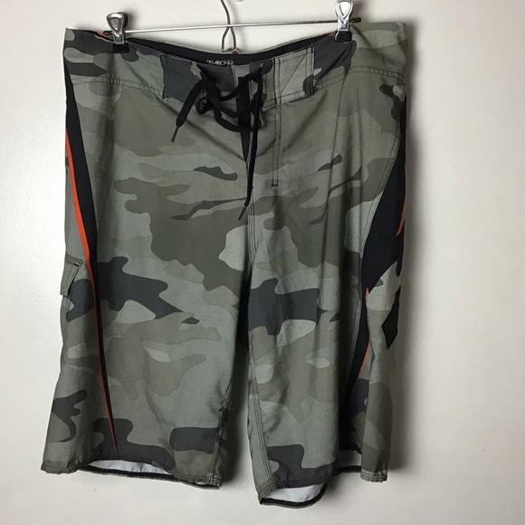 Billabong Camo swim  board shorts. 35
